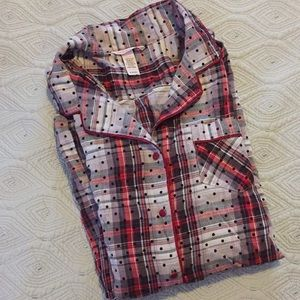 {Victoria's Secret} plaid sleep tunic / dress?